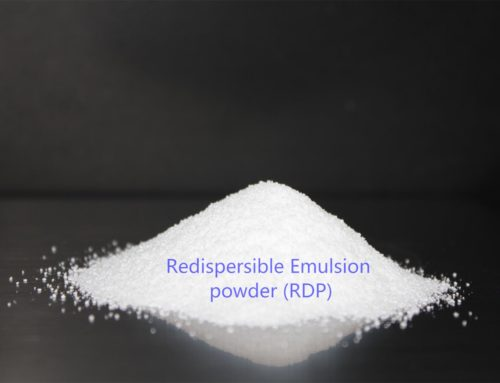 What is the role of redispersible polymer powder in wall putty?